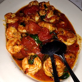 Shrimp Fra Diavolo - Carmine's - Atlantic City, Atlantic City, NJ