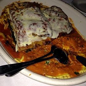 Sunday Four Pasta Platter - Carmine's - Atlantic City, Atlantic City, NJ