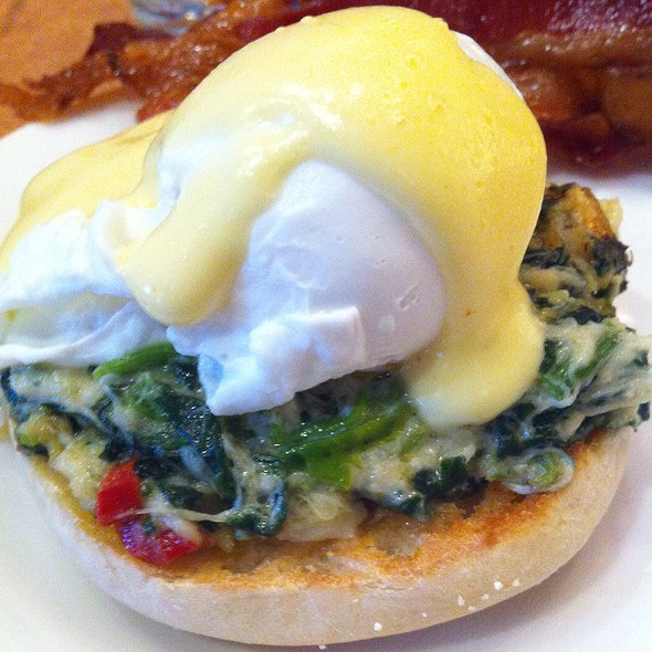 Crab Florentine Eggs Benedict - The Drafting Room Taproom & Grille, Exton, PA