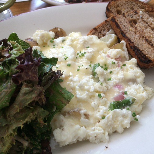 Egg White Frittata with Fresh Garden Vegetables - Hill and Bay, New York, NY