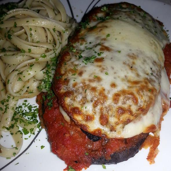 Eggplant Parmigiana - Raintree Restaurant, St. Augustine, FL