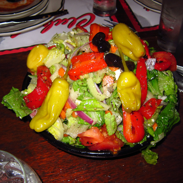 Melrose Pepper Salad - Club Lucky, Chicago, IL