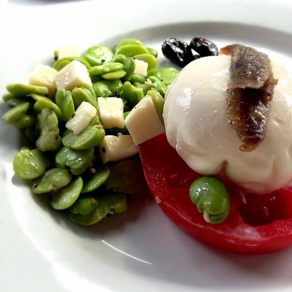 Burrata - Cafe Fiorello, New York, NY