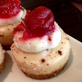Cherry Cheesecake - Six Penn Kitchen, Pittsburgh, PA