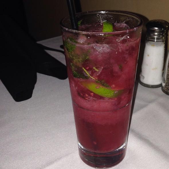 Raspberry Mojito - Bistro Mezzaluna, Fort Lauderdale, FL