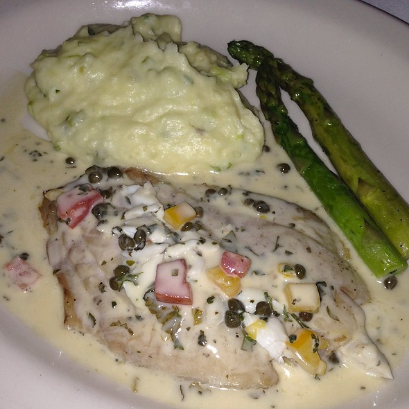 Pan Roasted Yellowtail Snapper - Bistro Mezzaluna, Fort Lauderdale, FL
