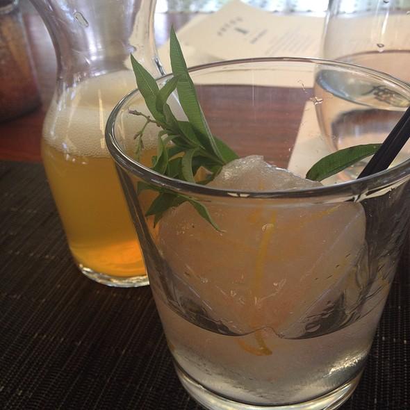 gin and tonic - PRESS, St. Helena, CA