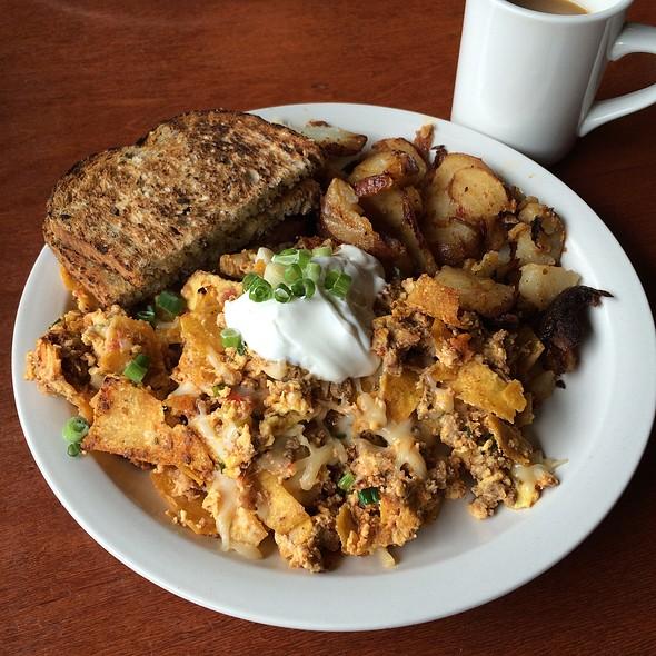 Migas Scramble - Blue Star Cafe and Pub, Seattle, WA
