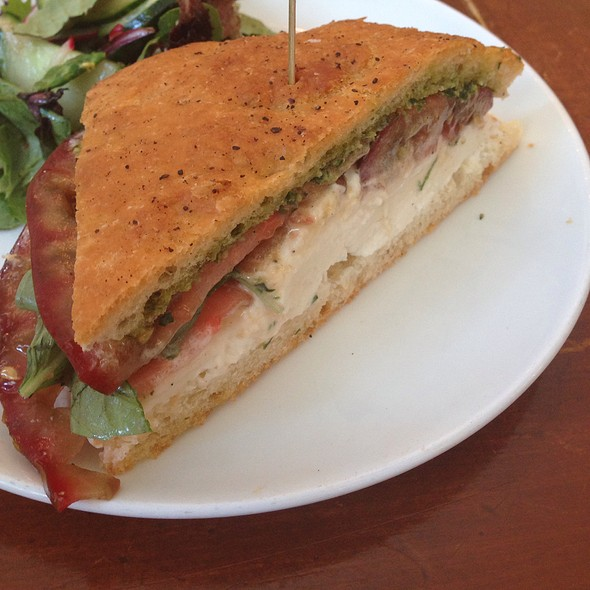 Caprese sandwhich - Town Hall, San Francisco, CA