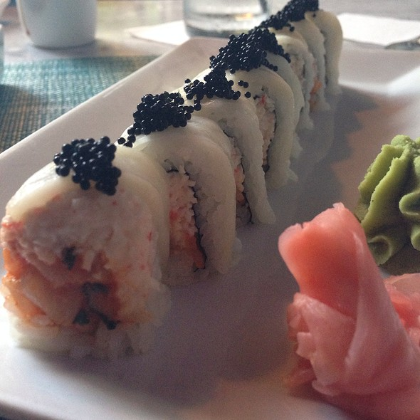 White Russian Sushi Roll - Dallas Fish Market, Dallas, TX