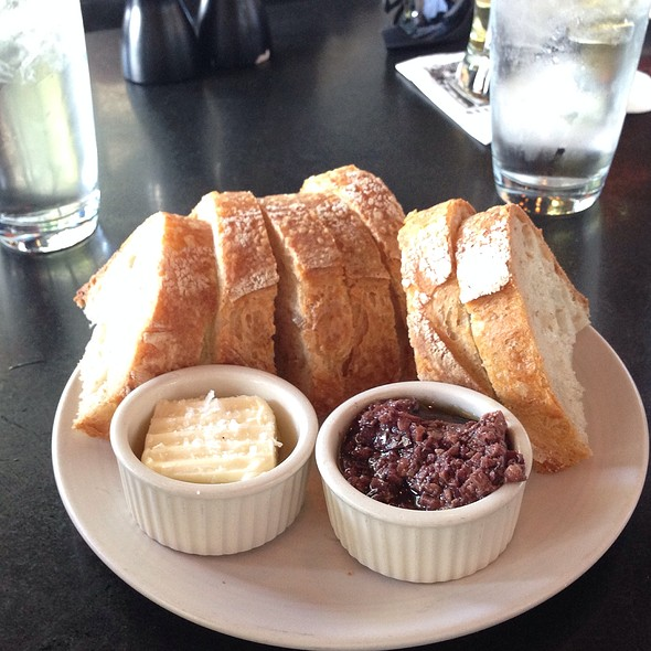Artisan Bread Tapenade And Fleur De Sal Butter - Etta's Seafood, Seattle, WA