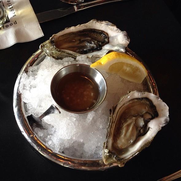 Oysters - Etta's Seafood, Seattle, WA