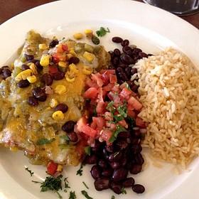 Green Chili Chicken Enchiladas - Chili's Texas Grill - Calgary - South Trail, Calgary, AB