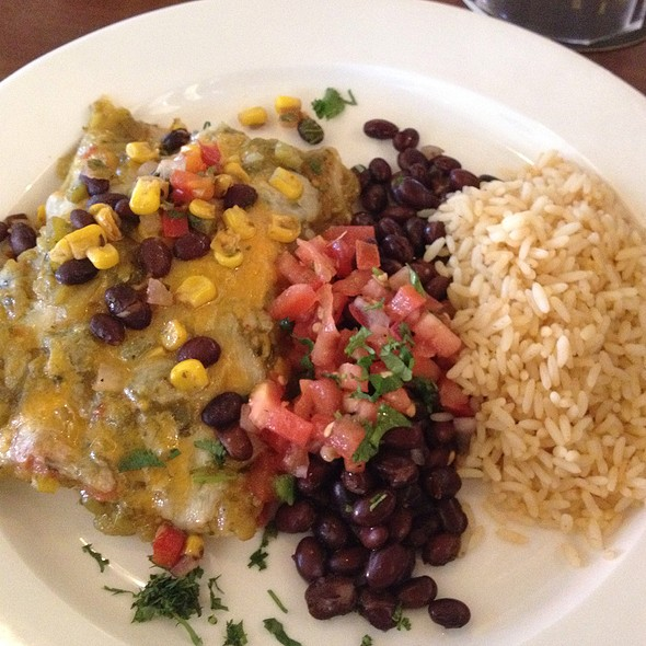 Green Chili Chicken Enchiladas - Chili's Texas Grill - Calgary - South Trail, Calgary, AB