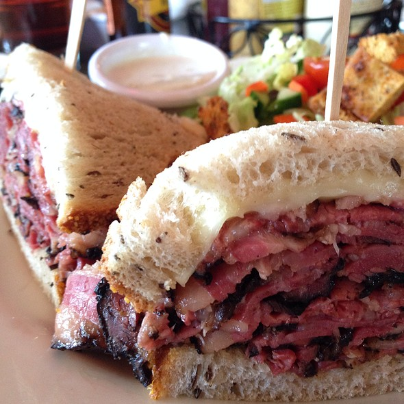 Corned Beef on Rye - Max's Restaurant & Bar of Burlingame, Burlingame, CA