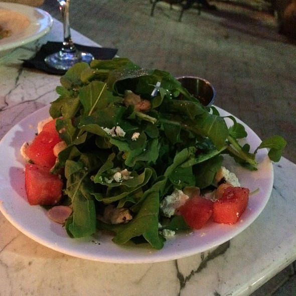 Arugula & Watermelon Salad - 32 East, Delray Beach, FL