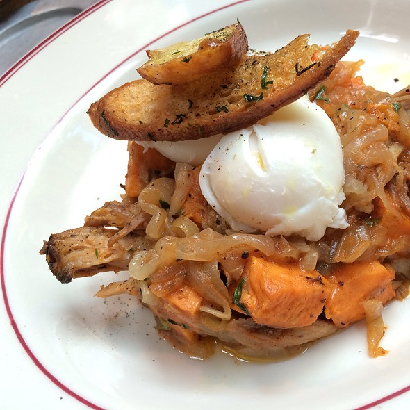 Pulled Pork & Sweet Potato Hash - The Park, New York, NY