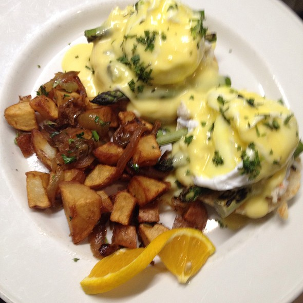 Crab Eggs Benedict - Lexx Restaurant, Lexington, MA