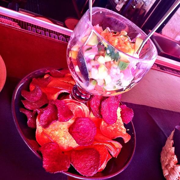 Hot & Raw Tropical Ceviche - SOL Cocina, Scottsdale, AZ