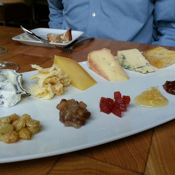 Cheese Plate - Scampo at The Liberty Hotel, Boston, MA