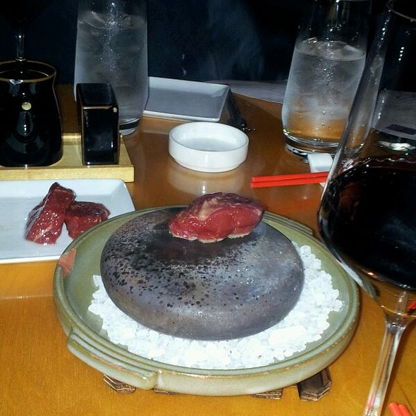 Hot Stone Grilled Wagyu Beef - Red Ginger of Traverse City, Traverse City, MI