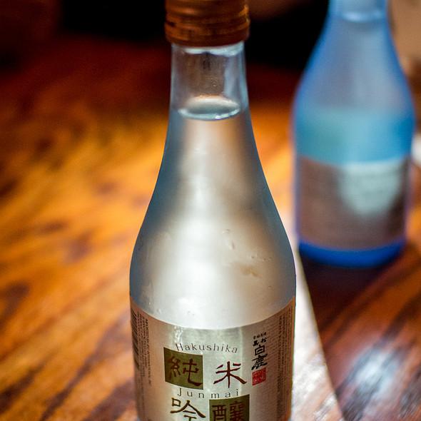 Hakushika Junmai Ginjo Sake - YamaSho, San Francisco, CA