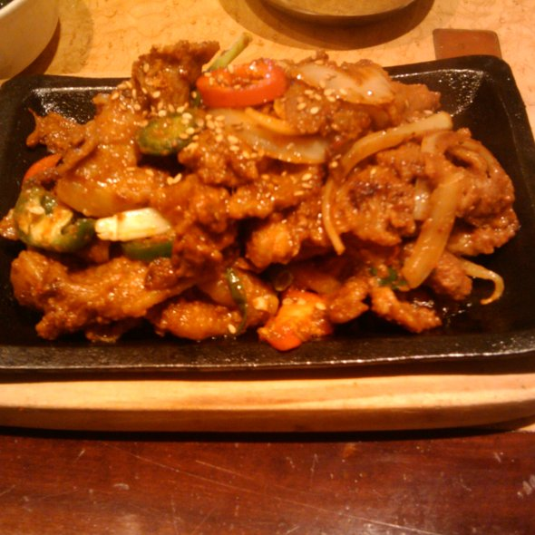spicy pork - Seoul Jung - Waikiki Resort Hotel, Honolulu, HI