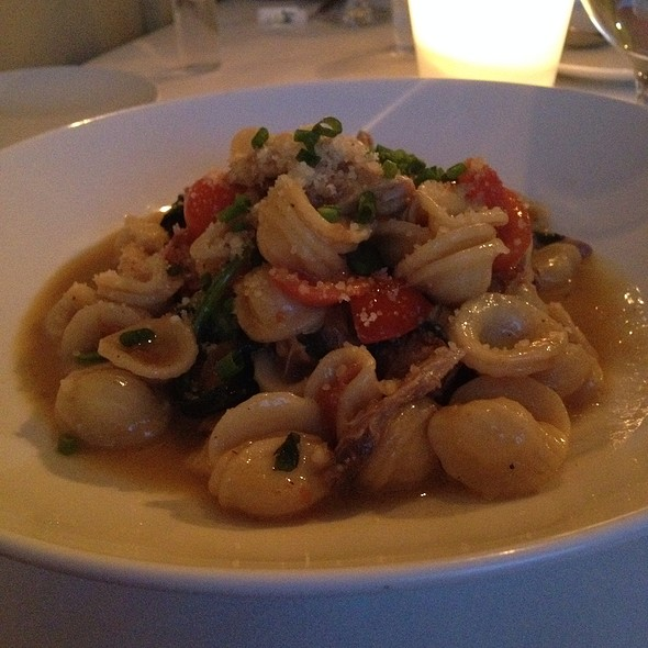 Rabbit Orecchiette - Fluke Wine Bar and Kitchen, Newport, RI