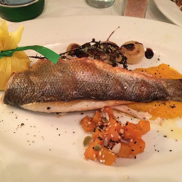 Branzino - Trattoria Dell'Arte, New York, NY