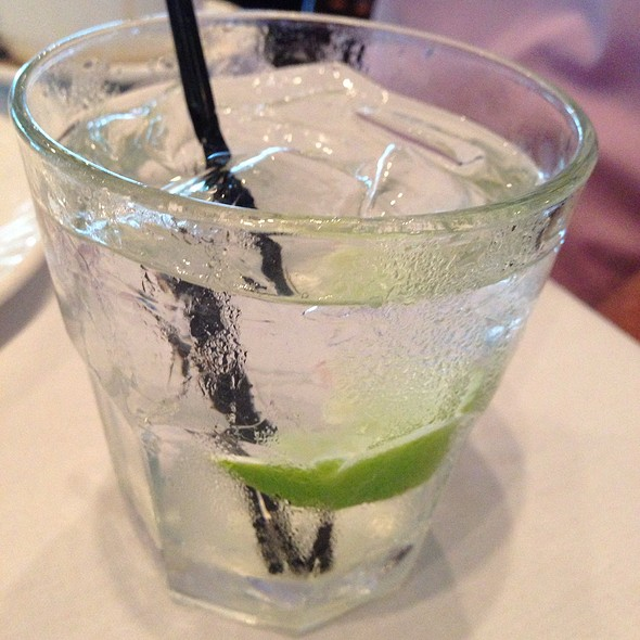 Vodka Tonic With Lime  - Ming Court, Orlando, FL