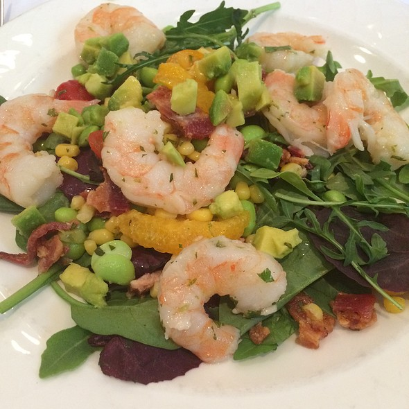 Shrimp, Citrus & Avocado Salad - Arizona Inn - Dining Room, Tucson, AZ