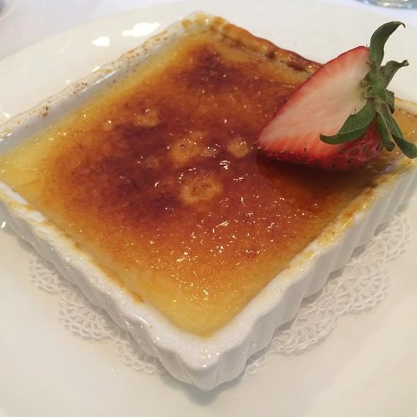 Crème Brûlée - Arizona Inn - Dining Room, Tucson, AZ