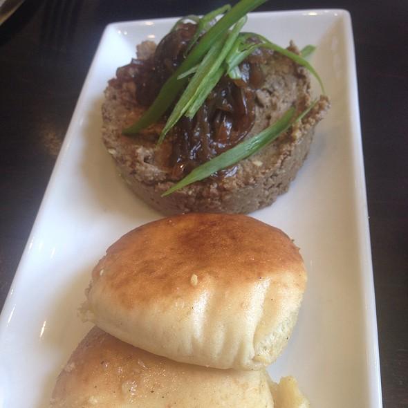 Chopped Chicken Liver Salad - Hummus Bar & Grill, Tarzana, CA