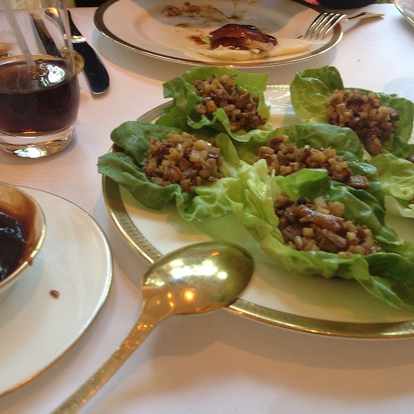 Minced Peking Duck with Lettuce Cups - Wing Lei, Las Vegas, NV