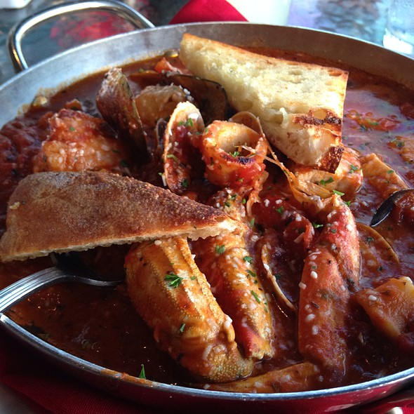 Famous Dungeness Crab Cioppino - The Fish Market, San Diego, CA