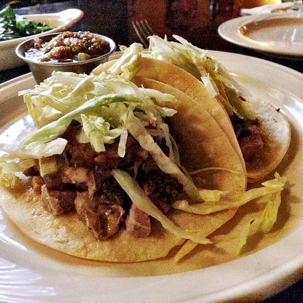Prime Rib Tacos - Golden Spur Restaurant, Glendora, CA