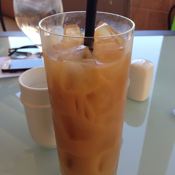 Iced Coffee - Cava - Renaissance Esmeralda Resort & Spa, Indian Wells, CA