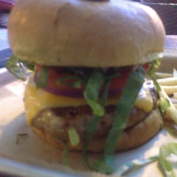 Turkey Burger - Big Kahuna, Atlanta, GA