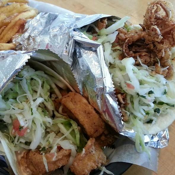 Calamari Tacos - Blue Fish Grill, Flemington, NJ