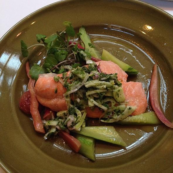 Salmon - Chez Panisse Cafe, Berkeley, CA