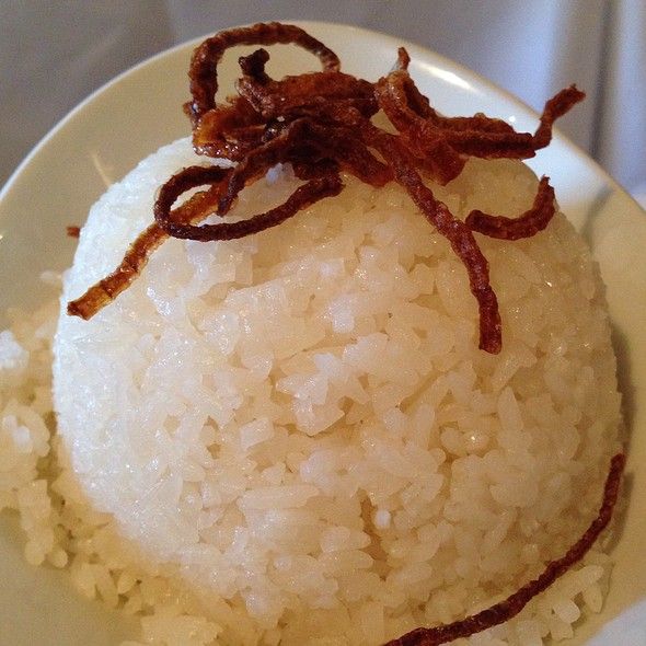 Coconut Rice - Rangoon Ruby Burmese Cuisine - Palo Alto, Palo Alto, CA