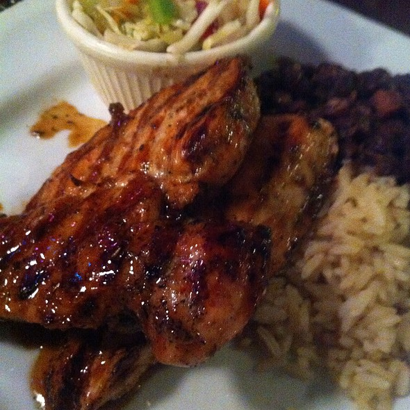 Jerk Chicken - Marleys Island Grille, Hilton Head Island, SC