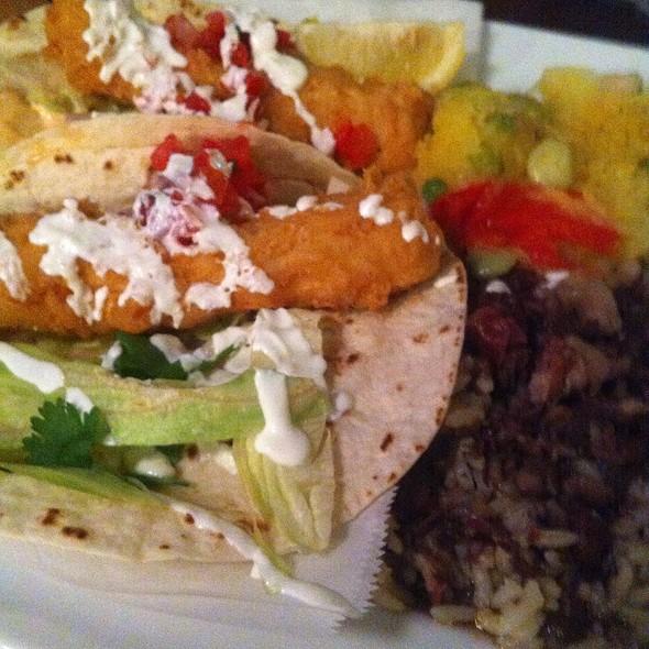 fish tacos - Marleys Island Grille, Hilton Head Island, SC
