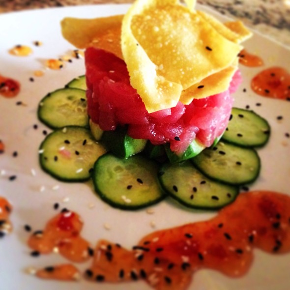 Tuna Tartar - AquaTerra Grille, Pearl River, NY