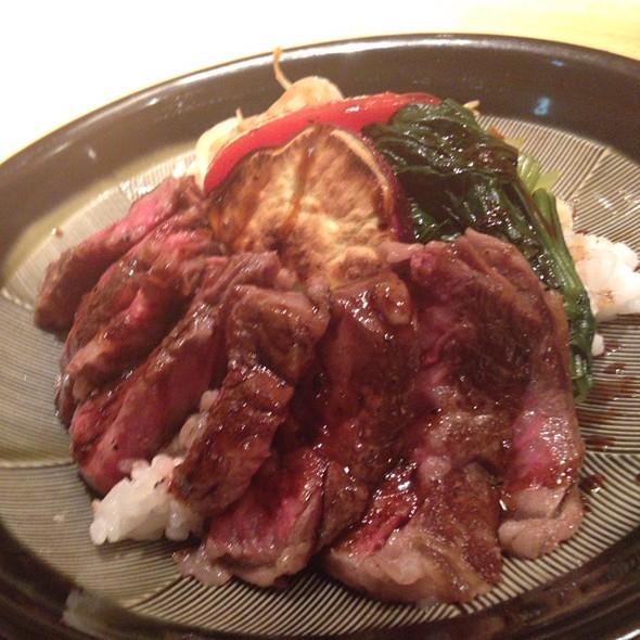 Steak Don - 銀熊茶寮, 中央区, 東京都