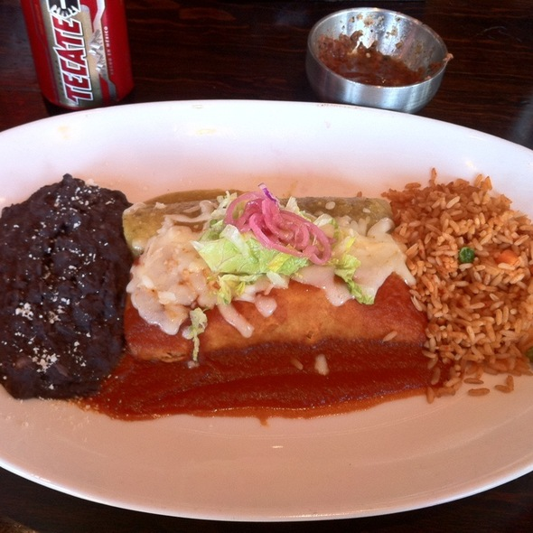 Chicken Enchilada - La Sandia Stapleton, Denver, CO
