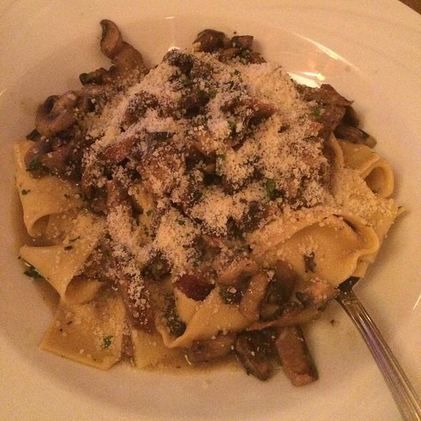 Fresh Pasta With Mushrooms - Caffe Buon Gusto - UES, New York, NY