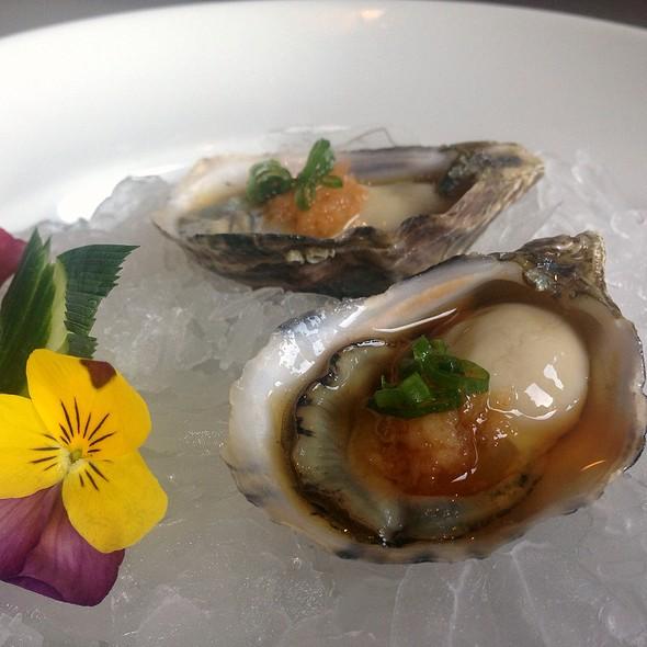 Shigoku Oysters - Azuki Sushi Lounge, San Diego, CA