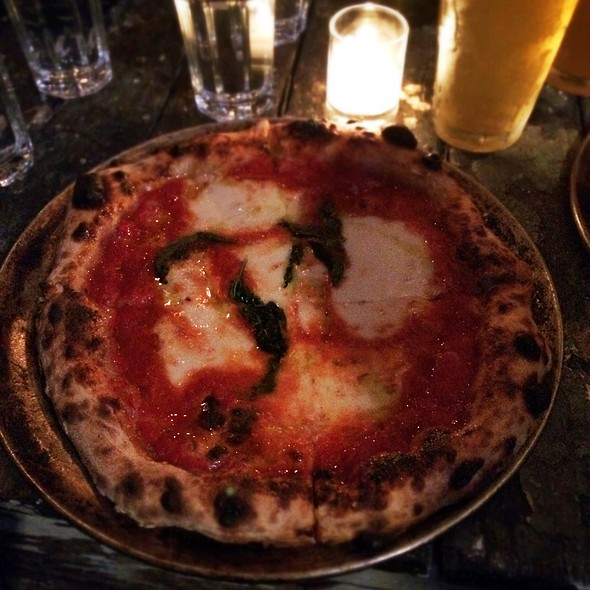 Pizza Margherita - Shelter Pizza, Brooklyn, NY