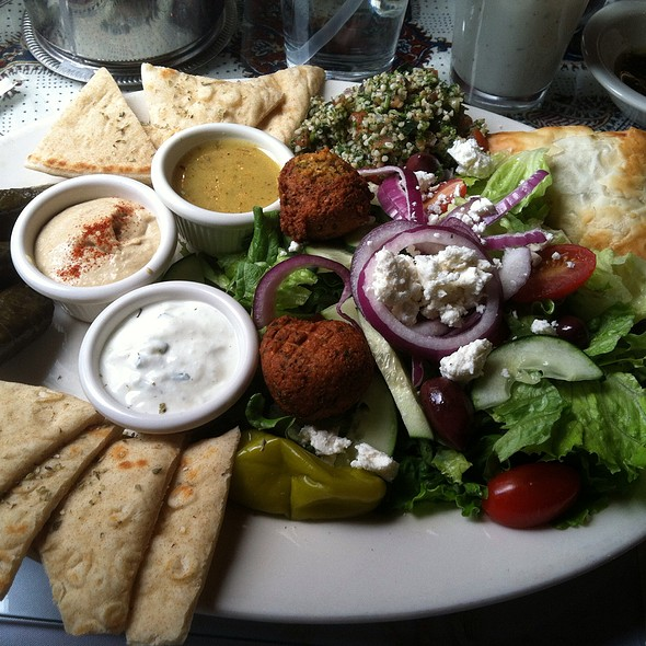 Vegetarian Specialty Plate - Pars Cuisine, Albuquerque, NM